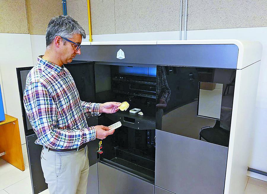Nueva impresora 3d Polyjet al servicio de la industria leonesa