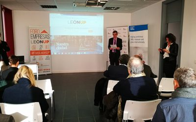 Horizonte 2020, European funds and partner search: first topics discussed in Foro Empresas LeónUP