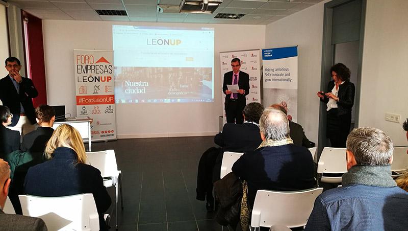 Horizonte 2020, fondos europeos y búsqueda de socios: primeros temas tratados en Foro Empresas LeónUP