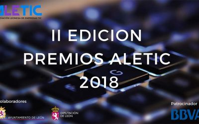 León's ICT sector dresses up for the ALETIC Awards next 18th October