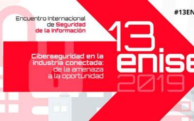 13ENISE, el evento del año en ciberseguridad