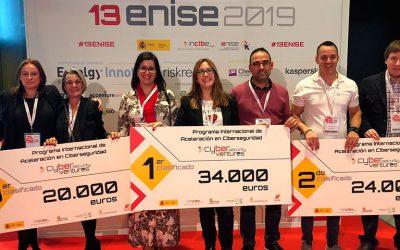 13ENISE acogió la entrega de premios del Programa de Aceleración de startups Cybersecurity Ventures